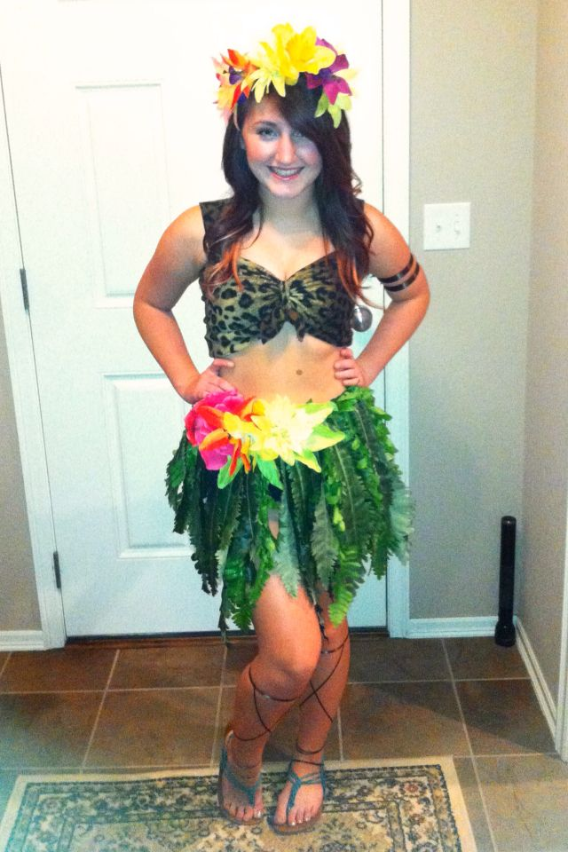 Katy Perry Roar video costume I made for my daughter 10-25 ...