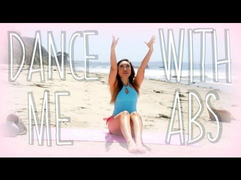 Dance with Me Ab Challenge | POP Pilates Beach Series. I like this idea. You could even do it on your own without the video, just repeat the sequence 3-4 times.
