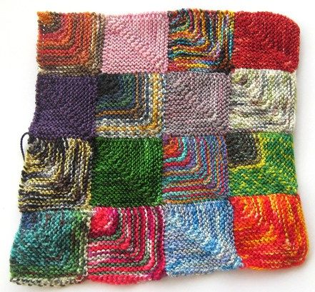 Got stash? Use up all of those pretty little scraps of sock yarn with this versatile patchwork sock yarn recipe!
