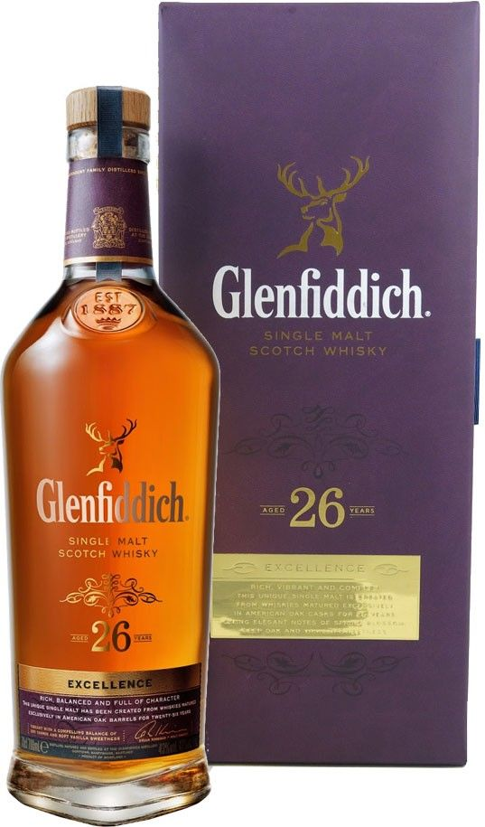 Glenfiddich Excellence 26 Year Old Single Malt Scotch Whisky | @Caskers