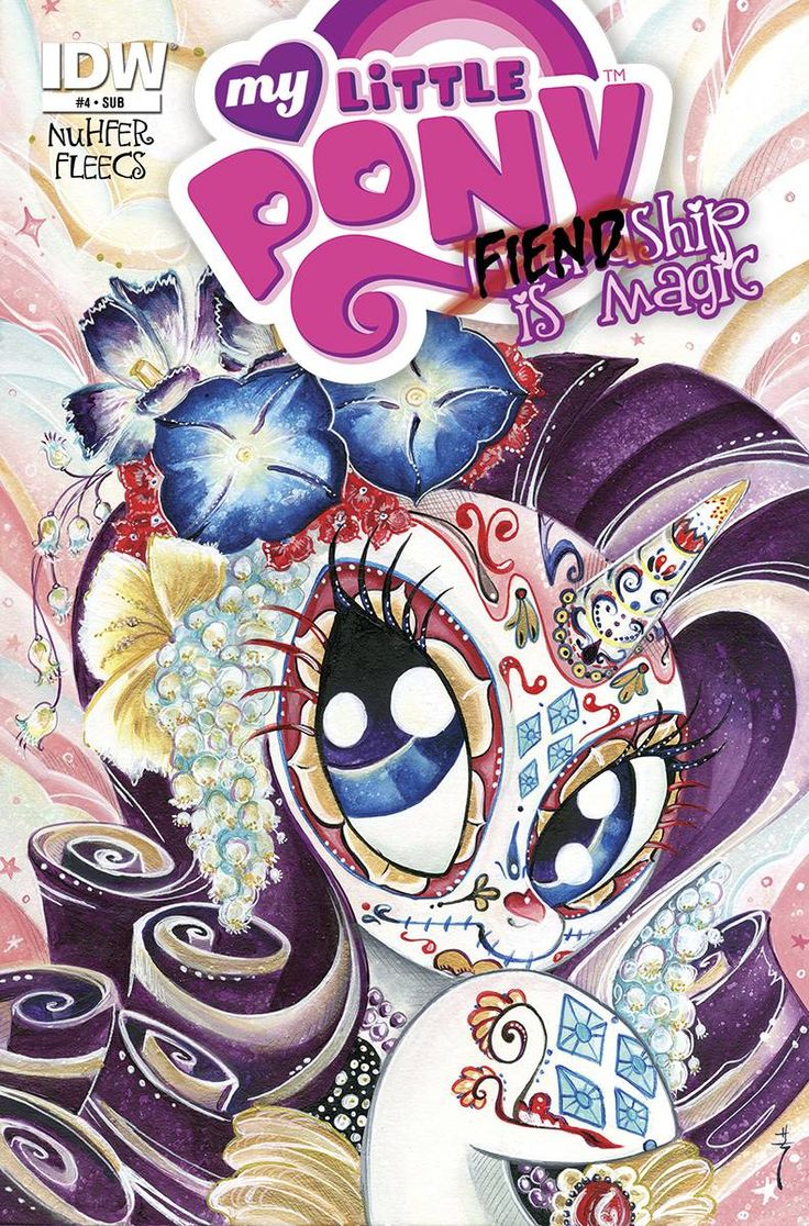 Fiendship is Magic Comic #4 Subscription Cover