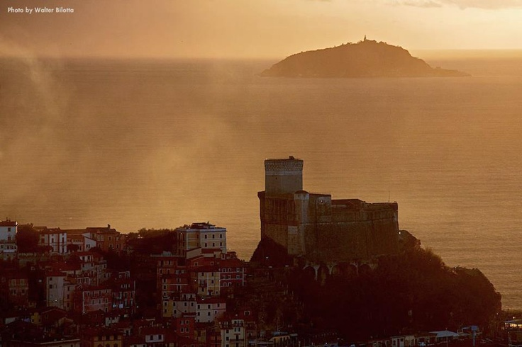 Lerici castle...