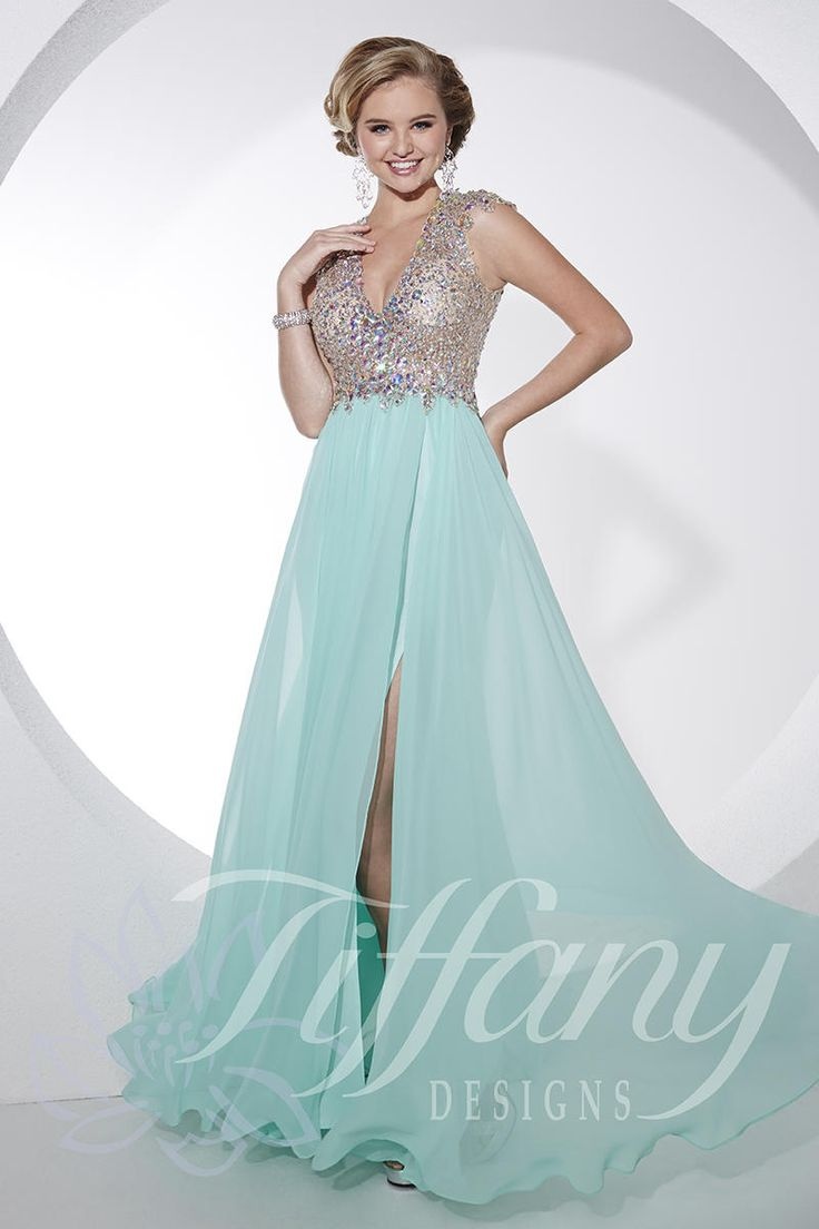 89 best Tiffany Prom 2016 images on Pinterest | Prom dresses ...