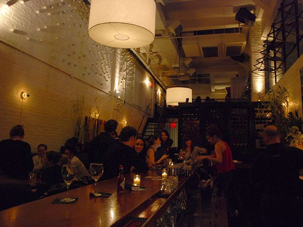 Where To Go For Oyster Happy Hour in NYC Essex Bar & Restaurant