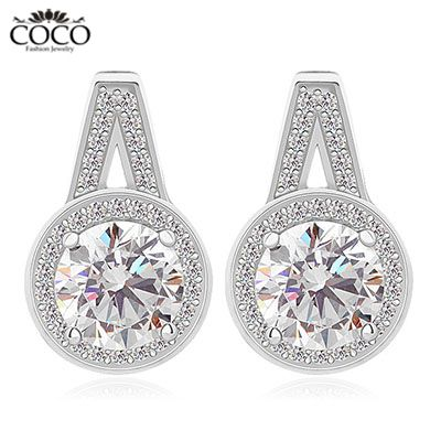 Cheap jewelry replicas, Buy Quality earrings pearls jewelry directly from China jewelry star Suppliers:                               Earringsweight: 2.4g         Earringssize: 10.5mm*16.5mm         Stone m