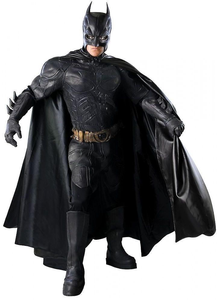 Batman Costume Adult The Dark Knight Grand Heritage Superhero Fancy Dress