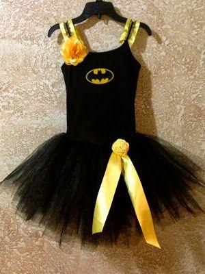 DIY Bat Girl Halloween Costume