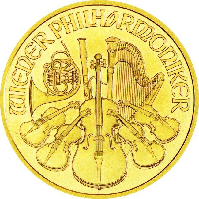 Philharmoniker 1/4 Unze Gold 2015,  9999/10000 Gold
