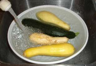 How to Freeze Summer Squash - Easily! With Step-by-step Photos, Recipe, Directions, Ingredients and Costs