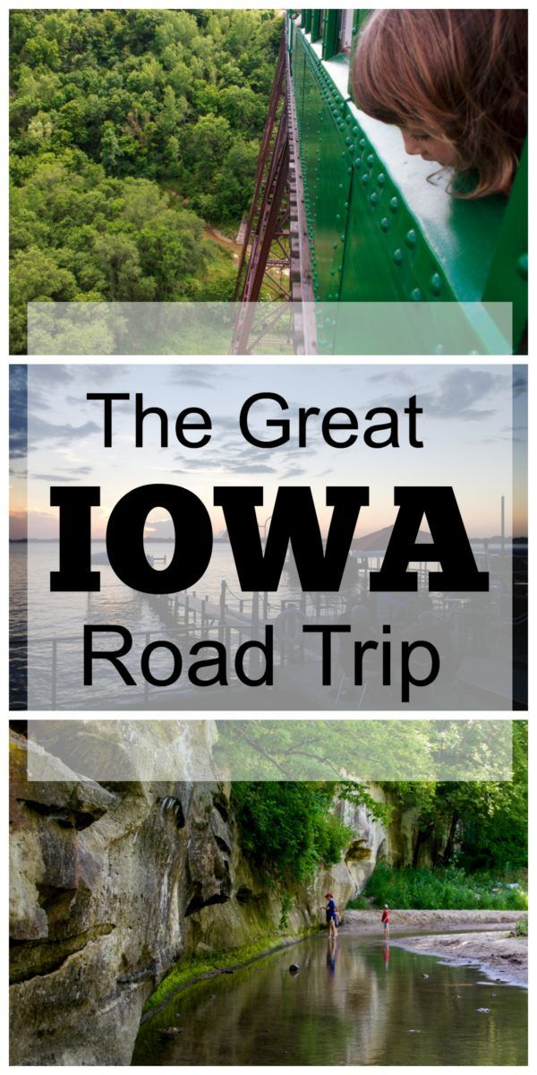 Get details on a fun central Iowa road trip for families, passing through Des Moines, Boone and Clear Lake, with ideas for food, fun and lodging.