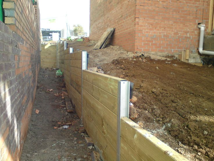 Cheapest retaining wall google search retaining wall for Cheap garden wall ideas
