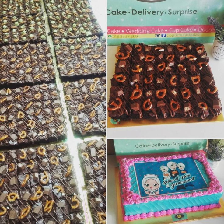 Throwback nurses day #brownies #chocolate #nurse #edibleimage #birthdayparty #birthdaycake #wedding #weddingcakes #hantaran #doorgift #surprise #helium #heliumballoon #surprisedelivery #deliveryorder #delivery #hululangatcake #bakingclass #onlinecakeshop #kl #klangvalley #selangor #dapurbulatbulat #0133334360 http://gelinshop.com/ipost/1524399936212046100/?code=BUnwapVjBEU