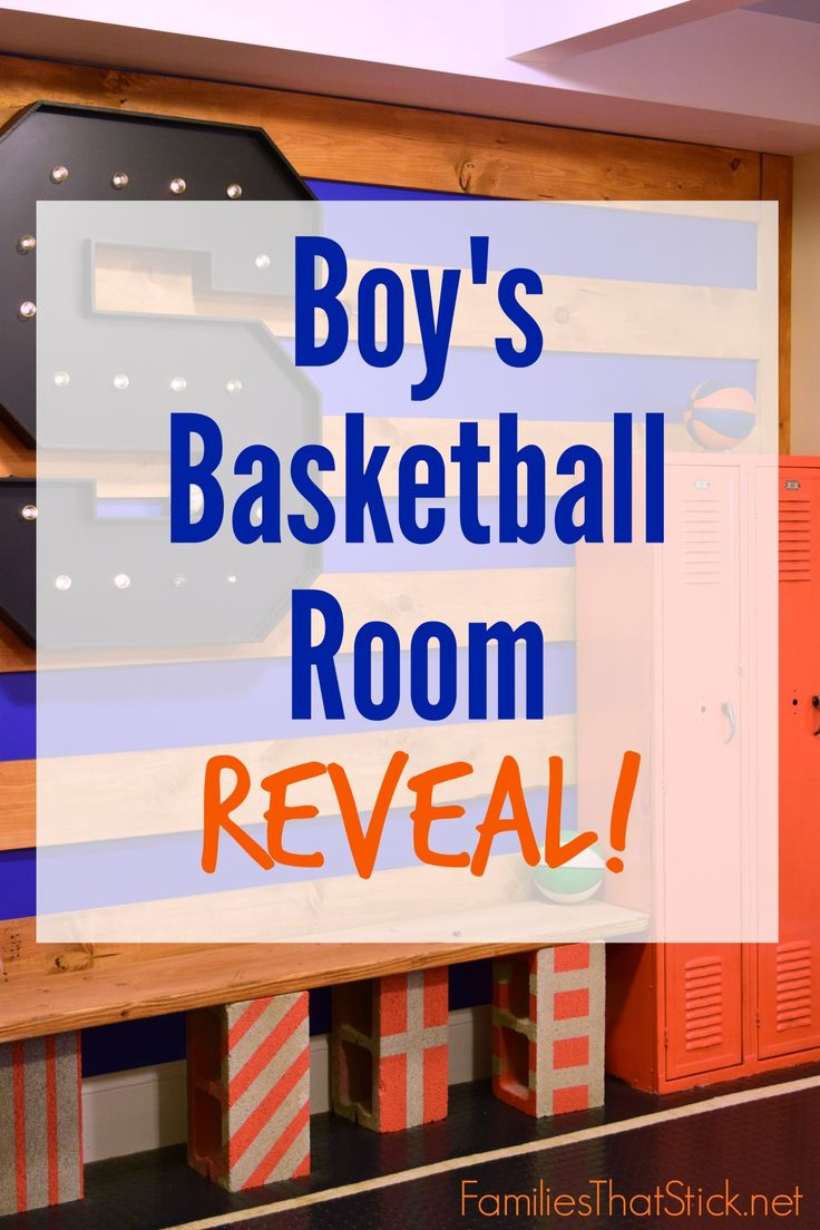 A boy's room is a tough design challenge. But, this room turned out so fun! Check out @klschicago Boy's Basketball Room Reveal! Great DIY project tutorials, too! http://www.rustoleum.com/product-catalog/consumer-brands/painters-touch-ultra-cover-2x/gloss/
