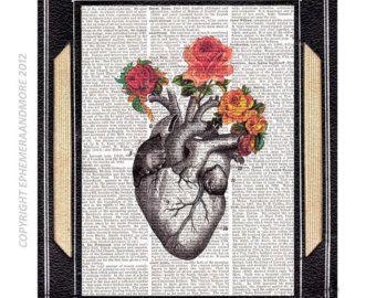 Art de coeur militaire Médaille /Anatomy par nepinka sur Etsy