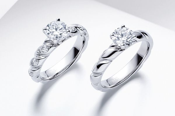 Chalet Trosade wedding rings