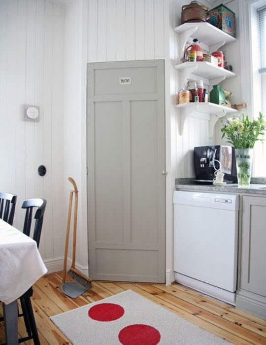 1000+ images about Pantry on Pinterest | Cabinets, American fridge ...