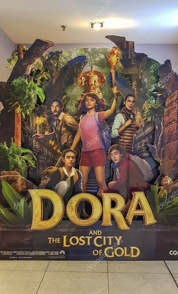 Dora And The Lost City Of Gold Movie Poster Is An American Adventure Film Adapt Ad Gold Movie City D Gold Movie Poster Lost City Of Gold Gold Movie