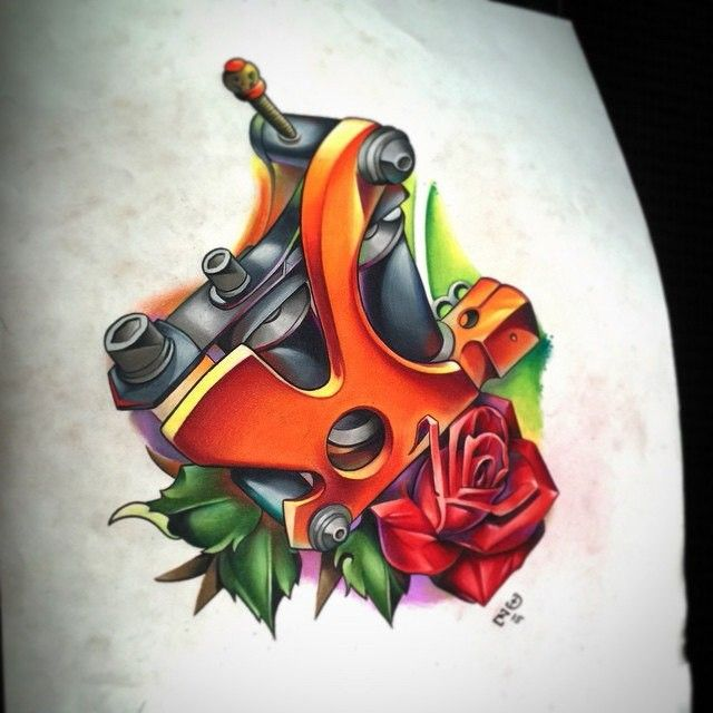 16 best tattoo machine images on pinterest tattoo ideas