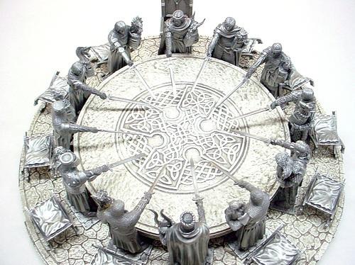 La leyenda del Rey Arturo - Los caballeros de la mesa redonda