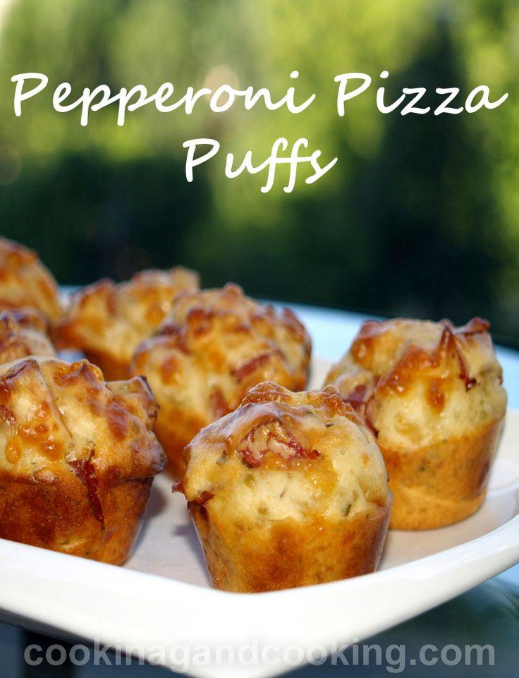 Pepperoni-Pizza-Puffs