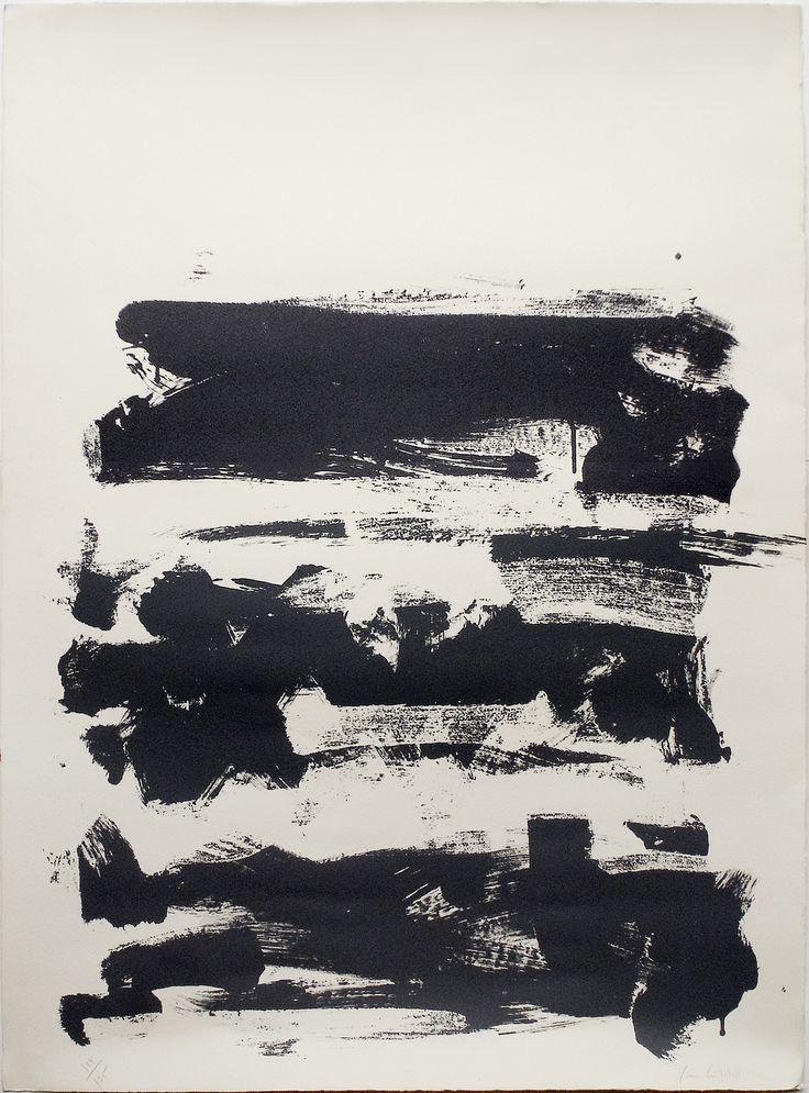 Joan Mitchell - Champs (lithograph)