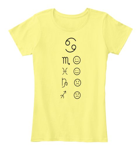 69 M Lemon Yellow T-Shirt Front