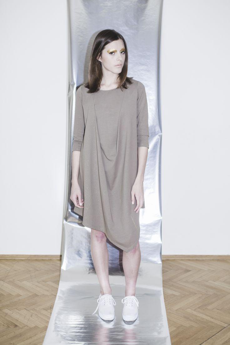 úpletové šaty NIGHTFALL