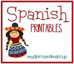 Spanish Circle Time Printables {FREE!}