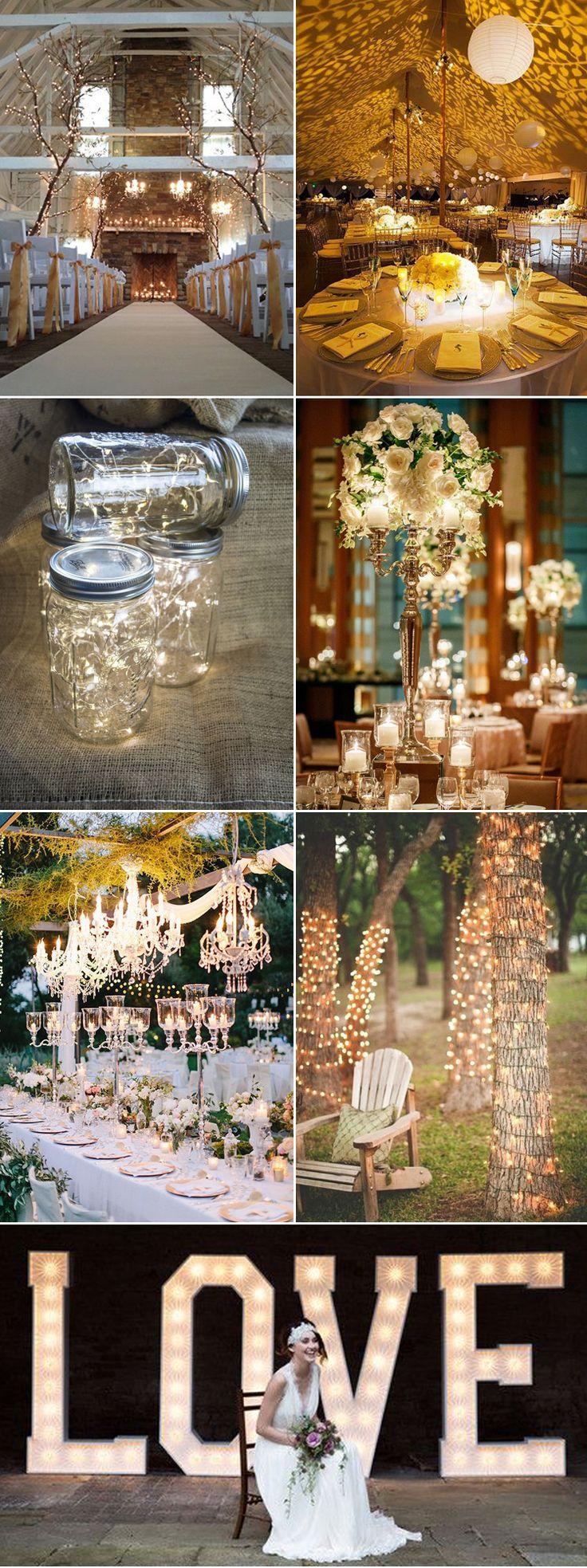 Glittering ideas to light up your wedding on GS Inspiration | Glitzy Secrets
