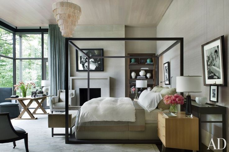 Contemporary Bedroom by McAlpine Booth & Ferrier Interiors | AD DesignFile - Home Decorating Photos | Architectural Digest