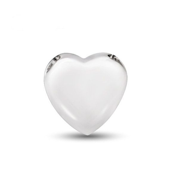 Sterling Silver Pendant Style 21 Tiny Love Heart by ATHiNGZ, $8.99