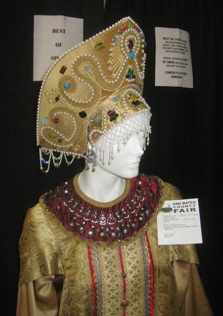 Russian headdress..the Kokoshnik