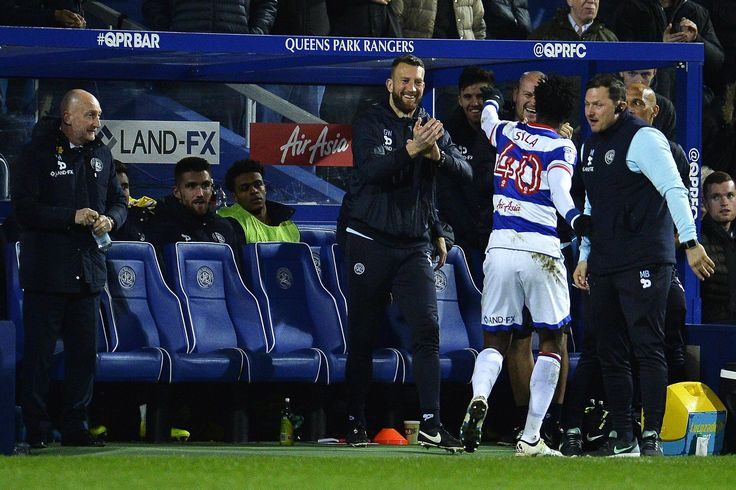 @QPR celebrating in the dugout #9ine