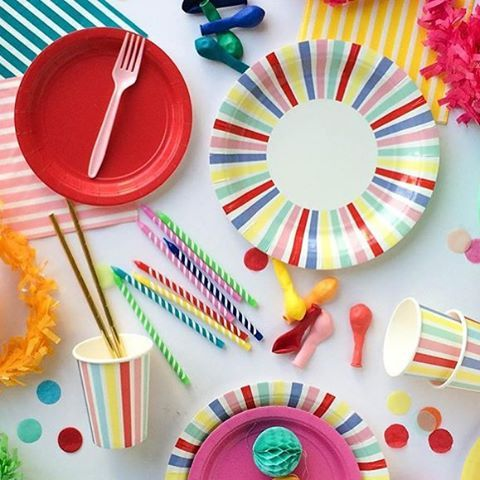 Gorgeous range of designer party plates - perfect for celebrations of all ages!  #partyware #partycups #cups #event #styling #partyshop #partydecor #firstbirthday #wedding #engagement #bridalshower #babyshower #christening #teaparty #partytheme #paper #eventplanning #designerkids #designerbaby #homewares #designer #style #love #food #partyinspo #littlebooteekau #colour #crosses #sundays
