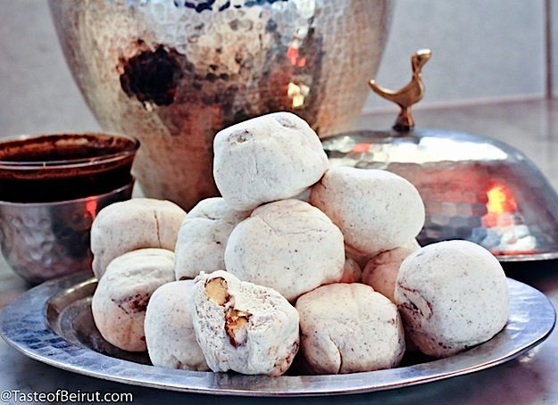 An Iraqi specialty, these candies go by the name mann al-sama which translates into manna from heaven. Every year we'd get a box courtesy of Alaa'din, our Iraqi friend escaping Baghdad's ...