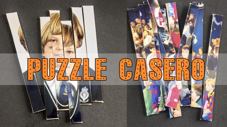 Puzzle casero:  http://www.hoynohaycole.com/archives/puzzle-casero-con-foto/