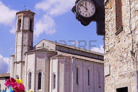 Saint Francis church, Gubbio, Umbria, Italy