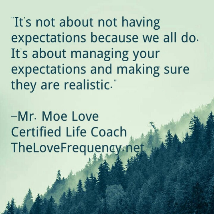 Expectations In A Relationship Quotes: Realistic Expectations Quotes. QuotesGram