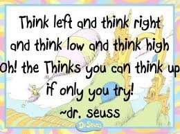 Dr. Seuss has all the inspiration!