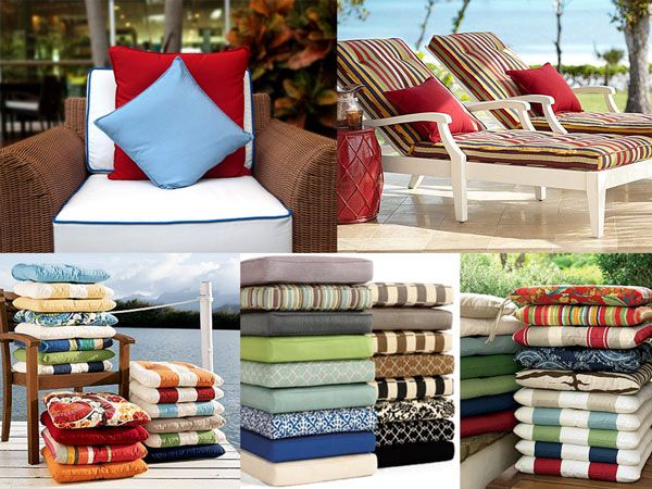 Patio Cushions Venice Beach California Custom Made Patio Cushions And  Sumbrella Fabrics. Outdoor Furniture Upholstery