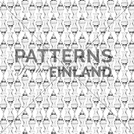 Sari Taipale: Ceramics – Air #patternsfromagency #patternsfromfinland #pattern #patterndesign #surfacedesign #saritaipale