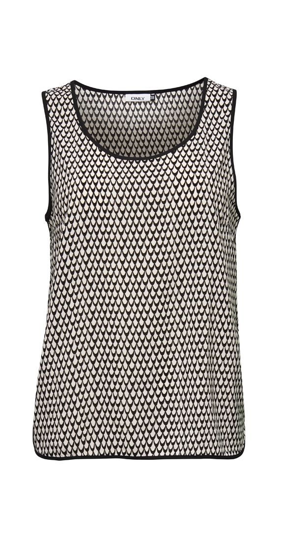 Light as be feather and sweet as pie. This easy to wear tank is a woven material that can be easily dressed up. Great for hot summer days to keep your cool.