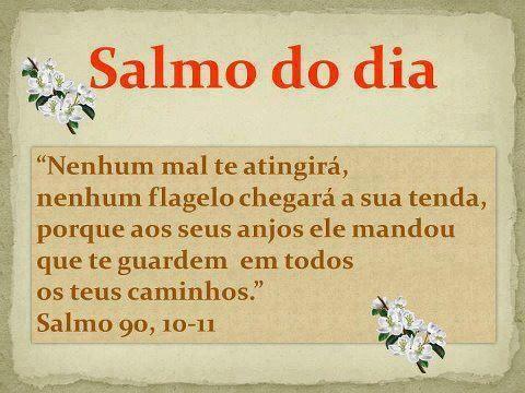 Meu salmo de todos os dias!!! Amém.