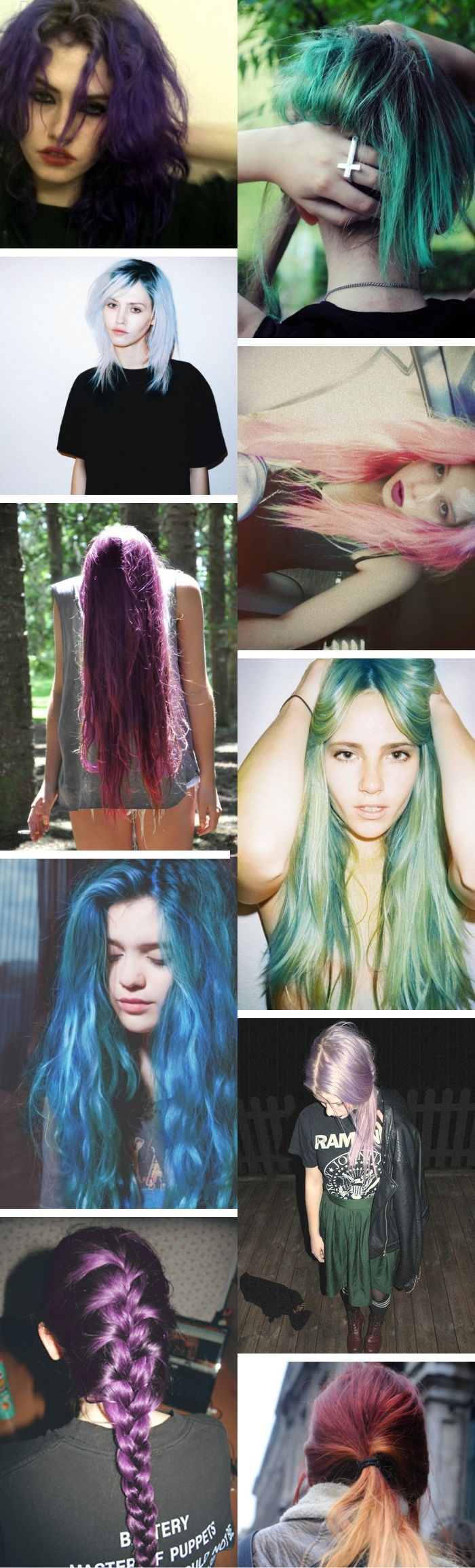 Cool hair colors