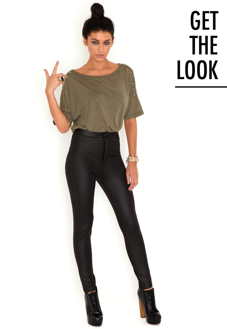 #mgwinterwardrobe  Eugenie Shiny Disco Pants ... Disco pants are a staple for every wardrobe and can easily be transitioned from any season.