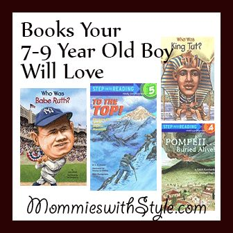 Books My Reluctant Reading 3rd Grade Boy Has Been Loving | Mommies With Style