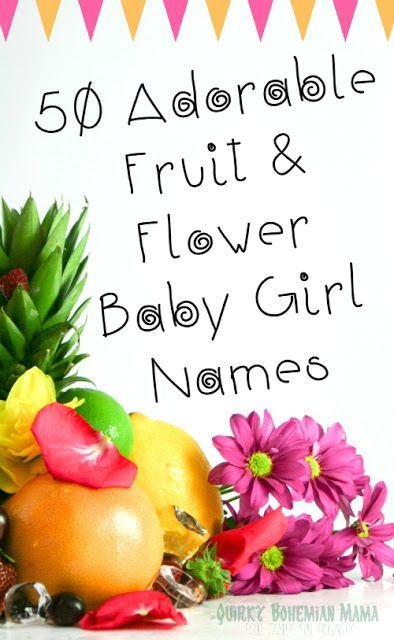 Baby girl names flowers