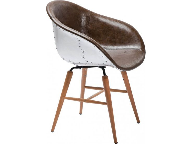 Krzesło Forum Soho brązowe — Krzesła Kare Design — sfmeble.pl