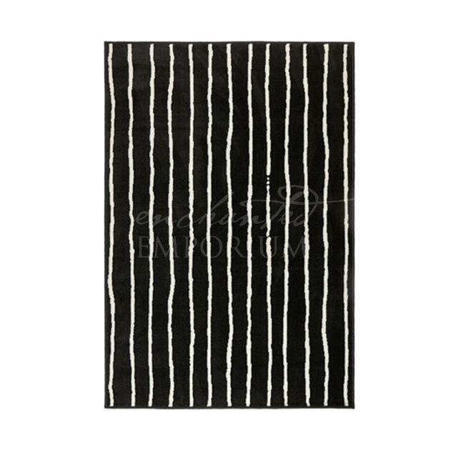Black + White Stripe Rug Hire, Enchanted Emporium