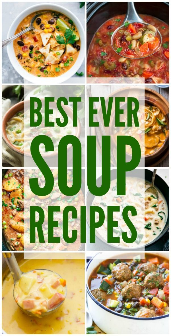 Best Ever Soup Recipes